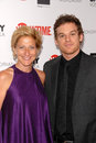 Michael c hall edie falco Royaltyfri Fotografi