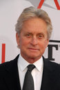 Michael Douglas,Mike Nichols Stock Photo