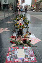 MICHAEL JACKSON ON THE HOLLYWOOD WALK ON FAME