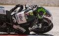 Michael Laverty, MotoGP Montmelo Royalty Free Stock Photo