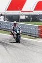 Michael laverty on paul bird motorsport team motogp misano adriatico september Stock Photos