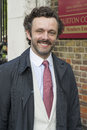 Michael sheen david frost arriving for s annual garden party held at the royal chelsea hospital in london picture by simon Royalty Free Stock Images