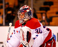 Michal Neuvirth Washington Capitals Royalty Free Stock Images