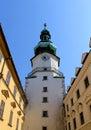 Michal Tower. Bratislava, Historic City Gate. Royalty Free Stock Photography