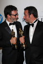 Michel Hazanavicius, Jean Dujardin Royalty Free Stock Images