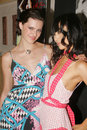 Michelle deighton bai ling and at an evening at frederic fekkai on rodeo drive presenting the leona edmiston spring and summer Royalty Free Stock Photography