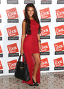 Michelle keegan at the look fashion show in association with smashbox cosmetics held at the royal courts of justice london picture Royalty Free Stock Images