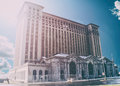Michigan Central Station Detroit Royalty Free Stock Photo