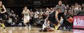 Michigan s trey burke strips penn state s d j newbill and loses the ball Stock Images