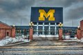 Michigan Stadium Royalty Free Stock Photo