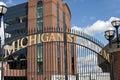 Michigan Stadium - the Big House Royalty Free Stock Photo