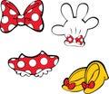Mickey Accesories, Disney, Minny
