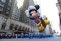 Mickey mouse balloon in Macy's parade Royalty Free Stock Photography
