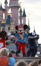 Mickey Mouse dancing Royalty Free Stock Photo