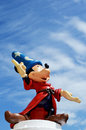 Mickey mouse fantasia disney figure Royalty Free Stock Photo