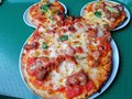Mickey Mouse Pizza @ Shanghai Disney land, China Royalty Free Stock Photo