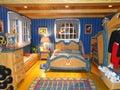 Mickey's bedroom in Disneyworld Royalty Free Stock Photography