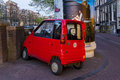 Micro-car for anonymous Royalty Free Stock Photo