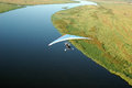 Microlight - Chobe Fluss Stockbilder