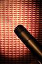 Microphone at amp Royalty Free Stock Photo