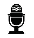 Microphone Icon Royalty Free Stock Photo