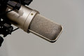 Microphone In Recording Studio Stock Image