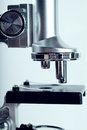 Microscope closeup view of toned image Royalty Free Stock Photography