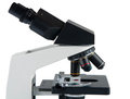 Microscope isolated Stock Image