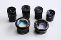 Microscope lens Royalty Free Stock Photography