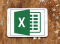 Microsoft Excel logo Royalty Free Stock Photo