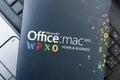 Microsoft office dla mac oprogramowania Obrazy Royalty Free