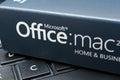 Microsoft office för mac software Fotografering för Bildbyråer