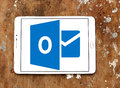 Microsoft outlook logo Royalty Free Stock Photo