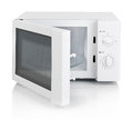 Microwave oven isolated Royalty Free Stock Photo