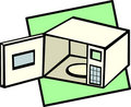 Microwave Oven Vector Illustra...