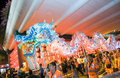 Mid Autumn Festival Parade Royalty Free Stock Image