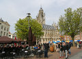 Middelburg the netherlands april famous town hall of the city of capital of zeeland province the netherlands Royalty Free Stock Photo