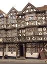 Middeleeuws Café Royalty-vrije Stock Afbeeldingen