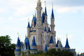 Middle Disney's Magic Castle Florida Royalty Free Stock Photo