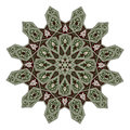 Middle eastern floral pattern motif arabic based on arabian ornament Stock Photo