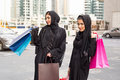 Middle Eastern Women With Shop...