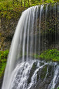Middle North Falls, Silver Falls State Park Royalty Free Stock Photo