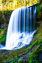 Middle North Falls, Silver Falls State Park, OR Royalty Free Stock Photo