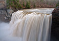 Middle Waterfall of the Genesee River Royalty Free Stock Photo