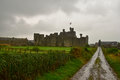 Middleham Castle In Wensleydale, Yorkshire