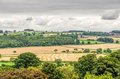 Middleham, North Yorkshire, England countryside Royalty Free Stock Photo