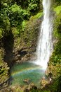 Middleham Waterfall, Dominica Royalty Free Stock Photo