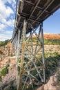 Midgley Bridge Over Wilson Canyon - Sedona, Arizona