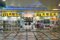 Midland realty shop in hong kong located sceneway plaza lam tin is one of the largest real estate brokerage Stock Photo