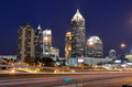 Midtown Atlanta Royalty Free Stock Photo